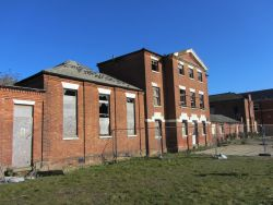 St Edmunds Work House – Protection works commencing...